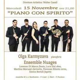 15/11/2017 / EVENTO: Piano con Spirito