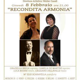"""""""Recondita armonia"""" Arie e duetti celebri del Melodramma ottocentesco"""