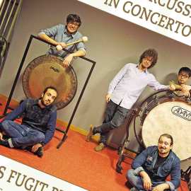 Sabato 13 Gennaio 2018 – TEMPUS FUGIT PERCUSSION ENSEMBLE