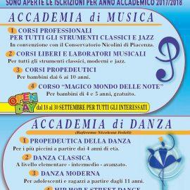 Corsi 2017-2018 Accademia Musicale e di Danza