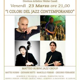 I COLORI DEL JAZZ CONTEMPORANEO – MATTEO RUBINI JAZZ GROUP