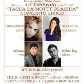 Quarto concerto Stagione di Musica 2018-2019