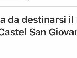 Rinviato a data da destinarsi il I° Concorso lirico Città di Castel San Giovanni